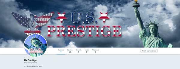 Kövesd a U.S. Prestige Parfümöt a Twitteren