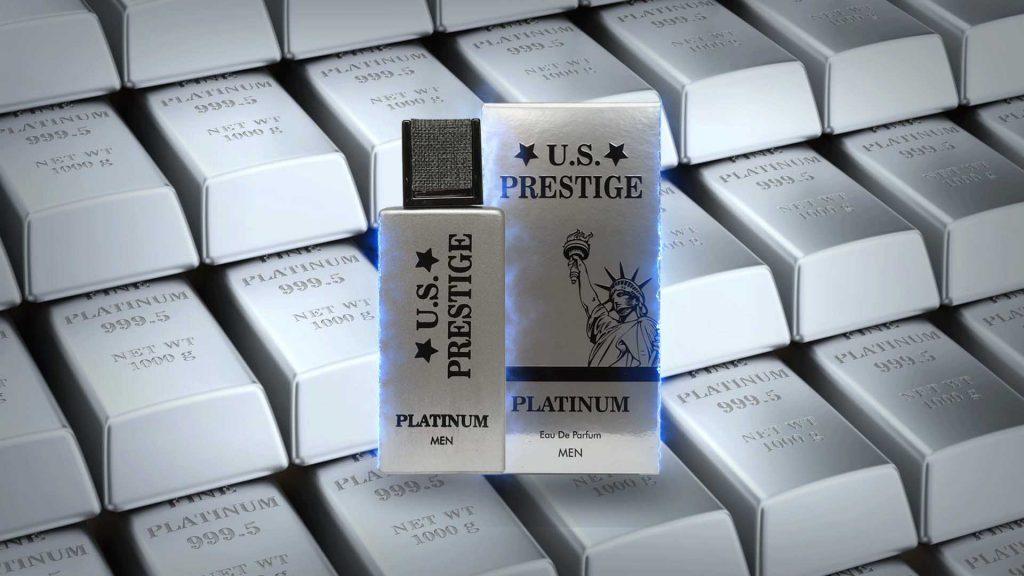 U.S. Prestige Platinum 50 ml Eau De Parfüm